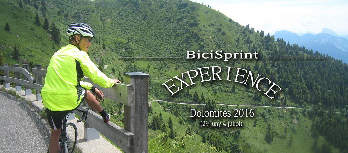 bicisprint experience dolomites 2016